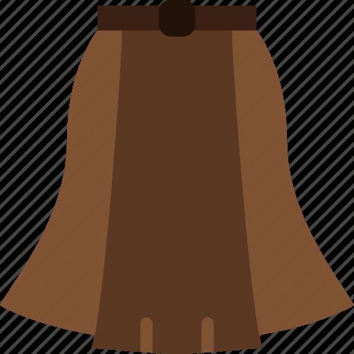 clothes, fashion, skirt, woman icon