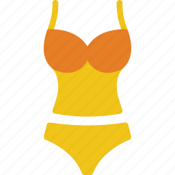 clothes, fashion, swimsuit, woman icon