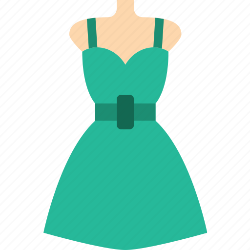 Woman, clothes, dress, fashion icon - Download on Iconfinder