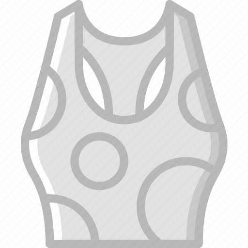 clothes, fashion, tank, top, woman icon