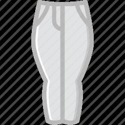 clothes, fashion, pants, woman icon