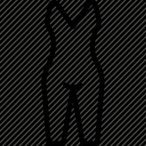 clothes, fashion, one, pajamas, piece, woman icon
