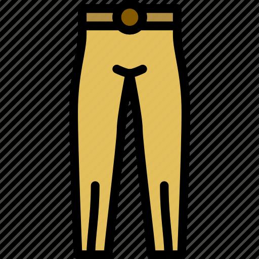 clothes, fashion, pants, stylish, woman icon