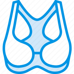 bra, clothes, fashion, woman icon