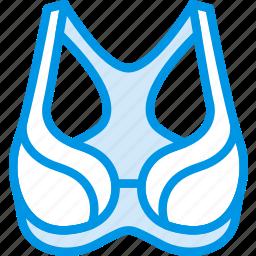 bra, clothes, fashion, sports, woman icon