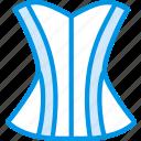 clothes, corset, fashion, woman icon