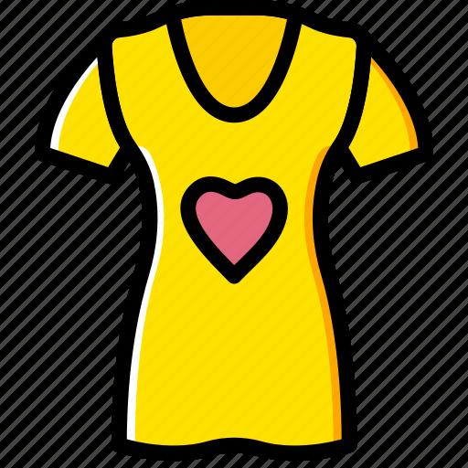 clothes, fashion, shirt, woman icon