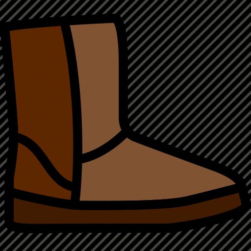 fashion, footwear, ugg, woman icon