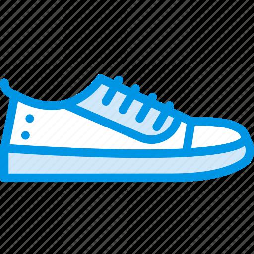 fashion, footwear, sneakers, woman icon