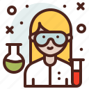 avatar, job, profile, scientist icon