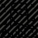 avatar, bellhop, job, profile icon
