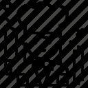 avatar, chef, job, profile icon