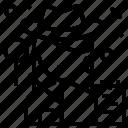 avatar, detective, job, profile icon
