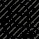 avatar, house, job, painter, profile icon