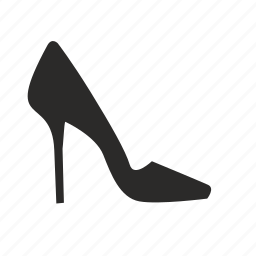 extra, heel, high, shoes icon