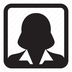 avatar, business, people, person, profile, user, woman icon