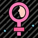 female, sign, feminine, girl, day