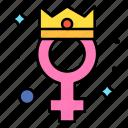 girl, princess, queen, woman, day