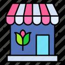 shop, store, blossom, bouquet, flora