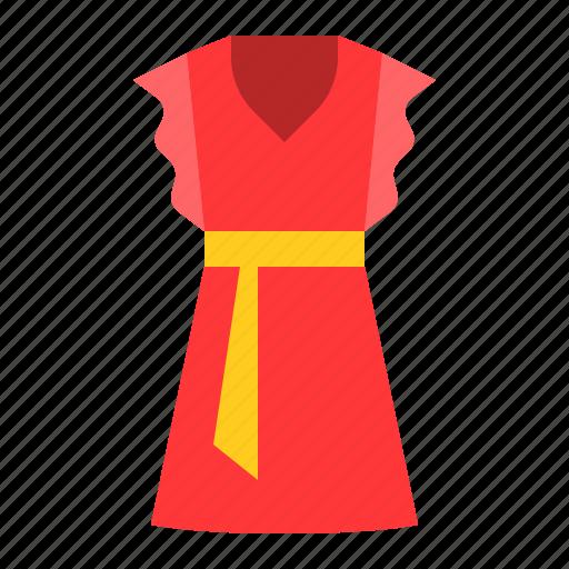 clothes, dress, fashion, female, women's clothing icon