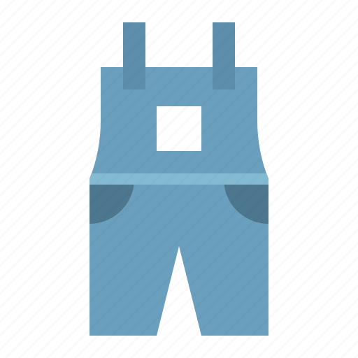 clothes, dungarees, fashion, female, women, women's clothing icon