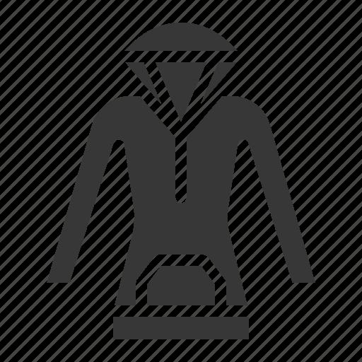 clothes, fashion, female, hood, women, women's clothing icon