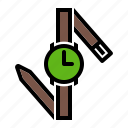 accessory, hand, watch, wristwatch icon