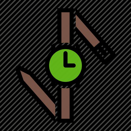 accessory, hand, watch, wristwatch icon