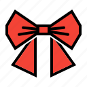 bow, fashion, knot, ribbon, woman icon