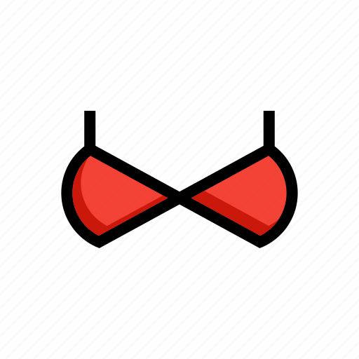 bra, brassiere, fashion, underdress, woman icon