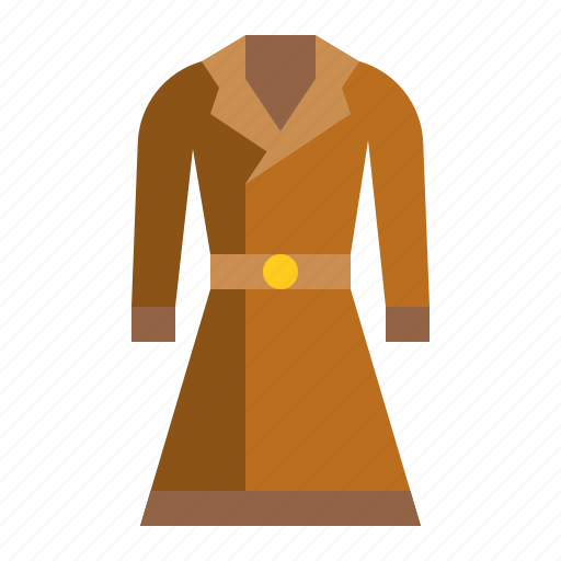clothes, coat, fashion, female, jacket, wear, women icon