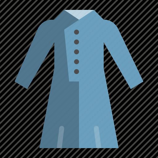 clothes, coat, dress, fashion, female, wear, women icon