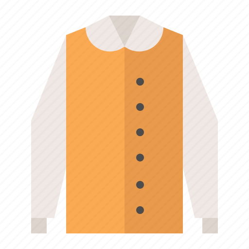 clothes, fashion, female, long sleeve, wear, women icon