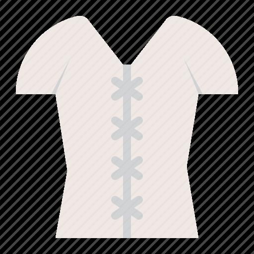 clothes, fashion, female, shirt, wear, women, women's clothing icon