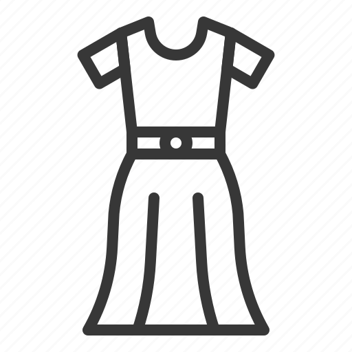 Clothes, dress, fashion, female, women, women's clothing icon - Download on Iconfinder