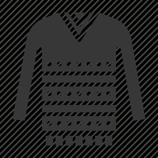 clothes, fashion, female, sweater, women, women's clothing icon