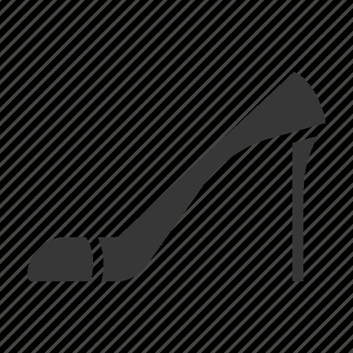 clothes, fashion, female, high heel, shoe, women icon