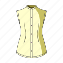 accessory, clothing, fashion, female clothes, goods, thing, waistcoat icon