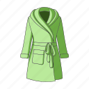 accessory, bathrobe, clothing, fashion, female clothes, goods, thing icon