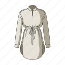 accessory, clothing, fashion, female clothes, goods, thing, tunic icon