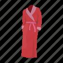 bathrobe, bathroom, bathtub, shower, women's clothing icon