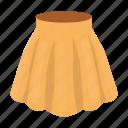 clothing, fashion, girl, skirt, women, women's clothing icon