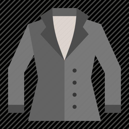 clothes, coat, fashion, female, women, women's clothing icon