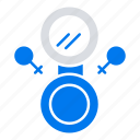 eight, mirror, symbol