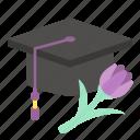 cap, education, graduate, graduation, student, woman