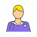 doctor, gynecologist, physician, general practitioner, mammalogist, oncologist, therapis