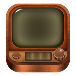 old, tv icon