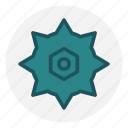 circular saw, construction, cut, handyman, saw blade, wood icon icon