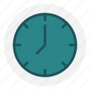 clock, countdown, new, time, twelve, year icon icon