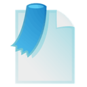 bookmark, document, file icon